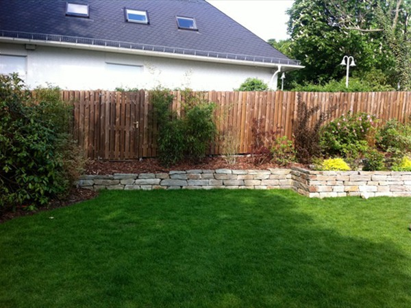 terrassenbau, Gartenarbeit ideen
